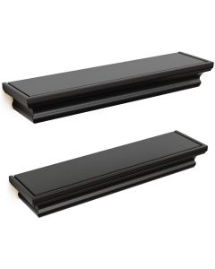 Classic Floating Shelves, Set of 2